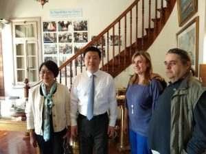Chinese Ambassador to Greece visits Maritime Museum